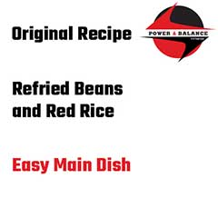 Refried Beans and Red Rice