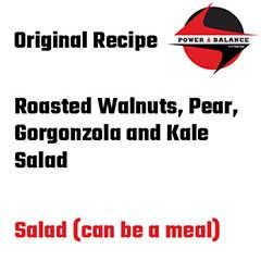 Walnut Pear Gorgon-Kale
